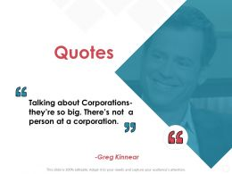 Quotes Communication Ppt Powerpoint Presentation Gallery Example