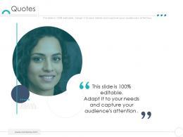 Quotes Company Ethics Ppt Summary