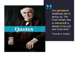 Quotes Good Ppt Example