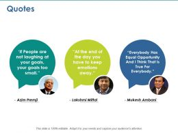 Quotes Intelligent Process Automation Ppt Layouts Designs Download