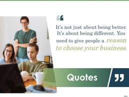 Quotes L1320 Ppt Powerpoint Presentation File Smartart