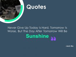 Quotes M3394 Ppt Powerpoint Presentation Model Topics