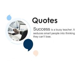 Quotes Management L1167 Ppt Powerpoint Presentation Summary