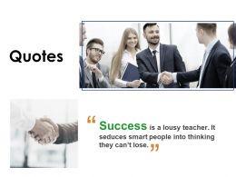 Quotes Management L648 Ppt Powerpoint Presentation Ideas