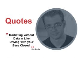Quotes Marketing Data K152 Ppt Powerpoint Presentation Gallery Model