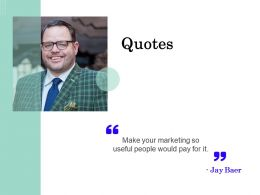 Quotes Marketing Ppt Powerpoint Presentation Icon Graphics Tutorials