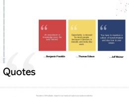 Quotes N532 Powerpoint Presentation Slides
