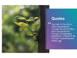 Quotes Nature Communication F460 Ppt Powerpoint Presentation Infographics Infographics