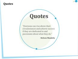 Quotes Nelson Mandela Ppt Powerpoint Presentation Infographics Background Images