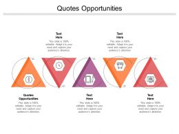 Quotes Opportunities Ppt Powerpoint Presentation Outline Infographic Template Cpb