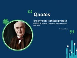 Quotes Opportunity Communication F759 Ppt Powerpoint Slides