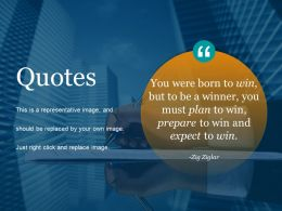 Quotes Powerpoint Slide Clipart