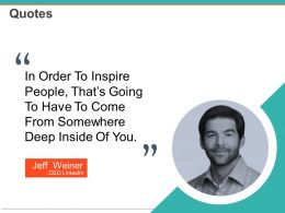 Quotes Powerpoint Slide Clipart Template 1