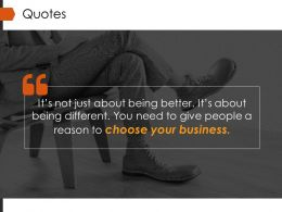 Quotes Powerpoint Slide Presentation Tips