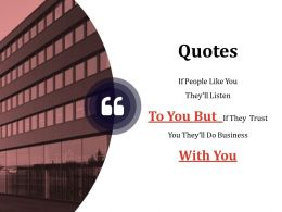 Quotes Ppt Background Template 2