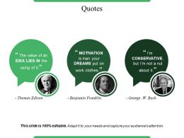 Quotes Ppt Diagrams