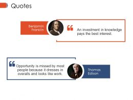 Quotes Ppt Example