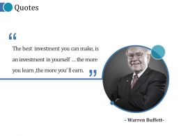 Quotes Ppt Examples