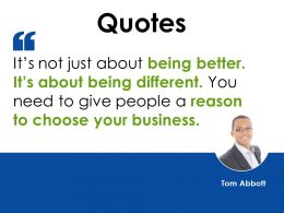 Quotes Ppt Examples Slides