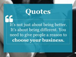Quotes Ppt Gallery Layout