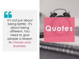 Quotes Ppt Gallery Visuals