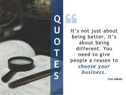 Quotes Ppt Ideas Slide Portrait