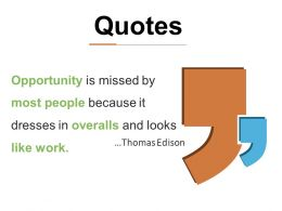 Quotes Ppt Infographic Template Master Slide