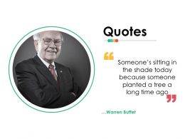 Quotes Ppt Infographics Slide Download