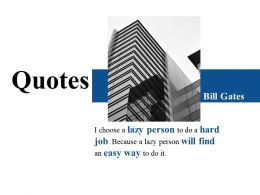 Quotes Ppt Infographics Vector