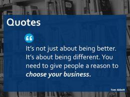 Quotes Ppt Portfolio Icons