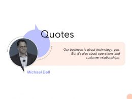 Quotes Ppt Powerpoint Presentation Model Backgrounds