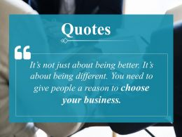 Quotes Ppt Professional Display
