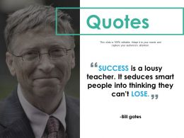 Quotes Ppt Professional Graphics Download
