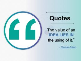 Quotes Ppt Professional Microsoft