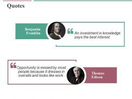 Quotes Ppt Professional Slide Portrait
