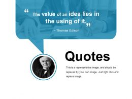 Quotes Ppt Sample Presentations