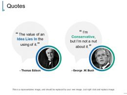 Quotes Ppt Samples Template 1