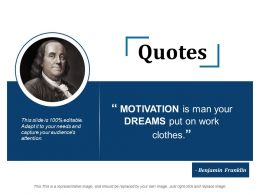 Quotes Ppt Slide Templates