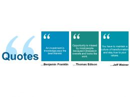 Quotes Ppt Slides Pictures