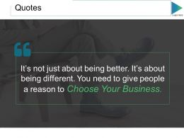 Quotes Ppt Slides Templates