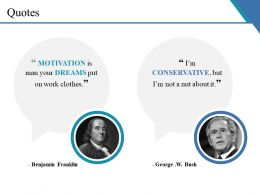 Quotes Ppt Summary Example Introduction