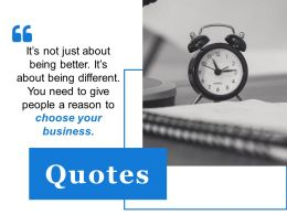 Quotes Ppt Summary Styles