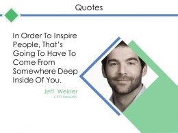 Quotes Ppt Templates
