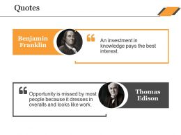 Quotes Ppt Themes