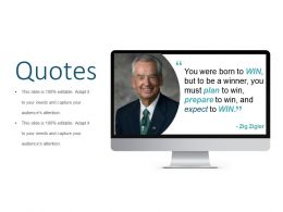 Quotes Presentation Examples