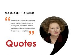 Quotes Presentation Images Template 1