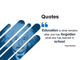 Quotes Presentation Powerpoint Templates