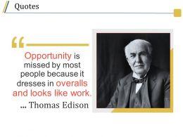Quotes Presentation Visual Aids