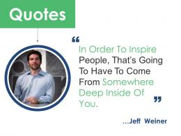 Quotes Project Brief Ppt Powerpoint Presentation Outline Visuals