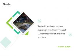 Quotes Sales Enablement Enhance Overall Productivity Ppt Model Show